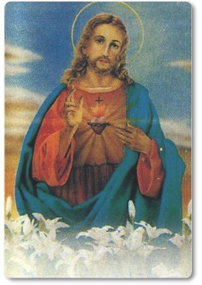 卡片-耶穌聖心